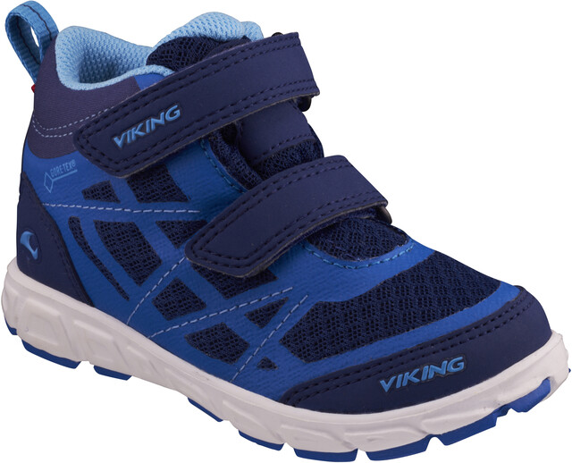 Viking Footwear Veme Mid GTX Sko Børn, dark blueblue | Find